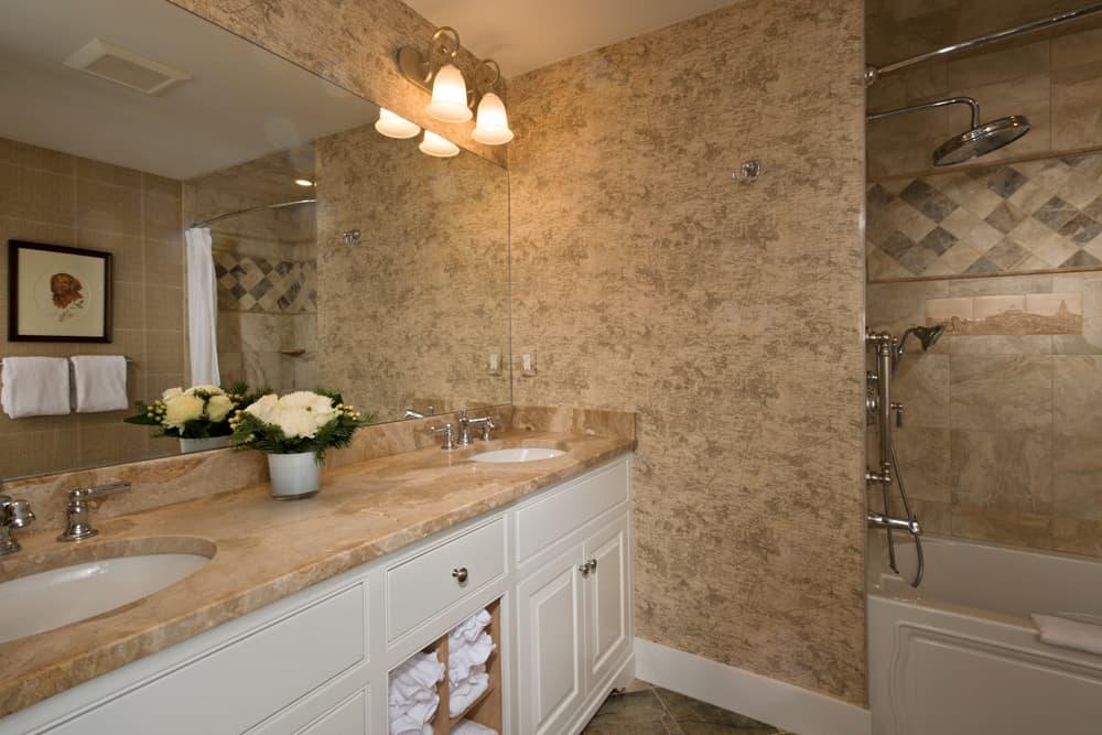 Topside Stateroom bathroom