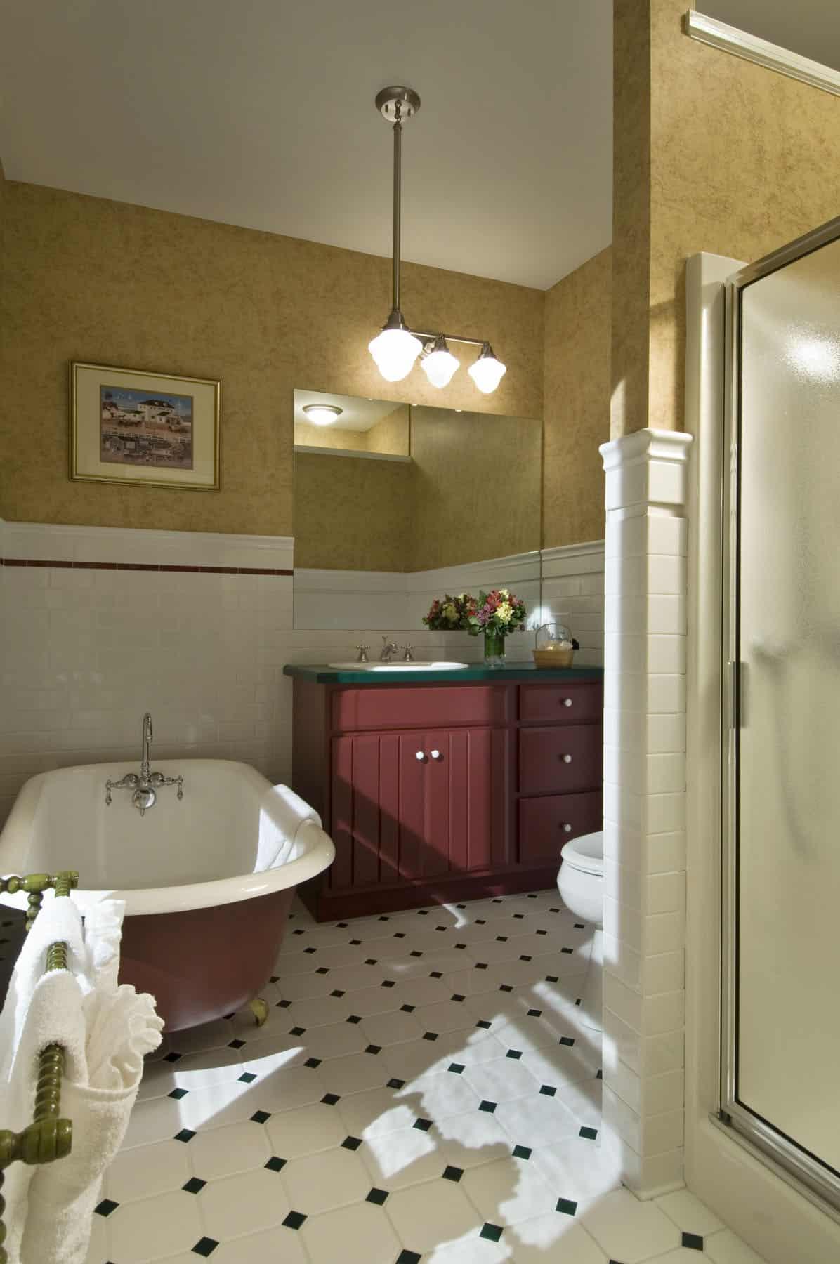 Chart Room bathroom