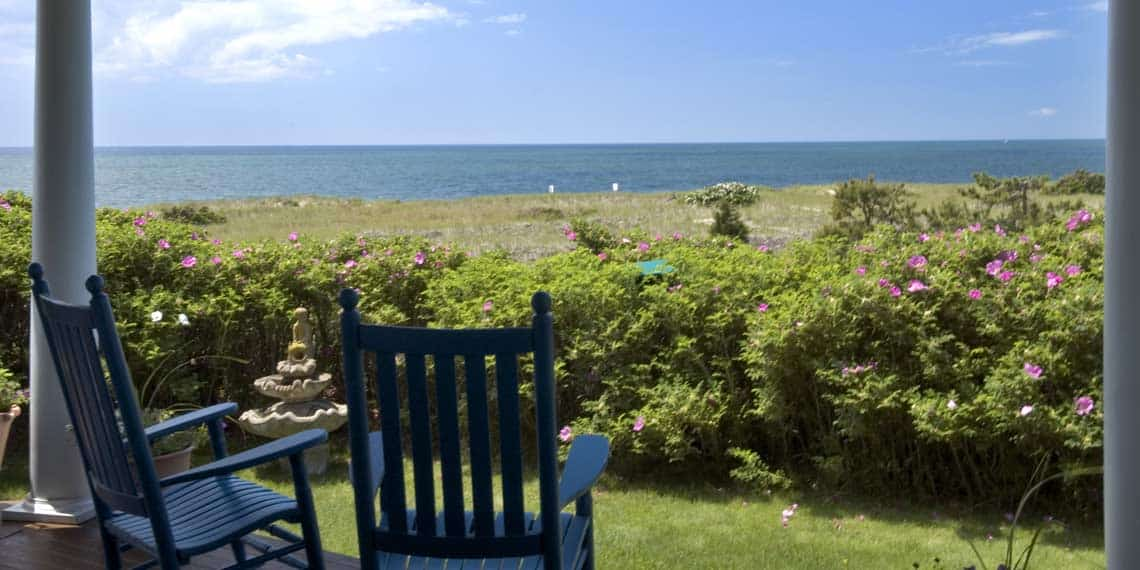 Cape Cod Beach Grass and Dunes from Oceanview Inn