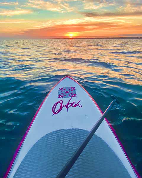 Stan up paddle board on Cape Cod